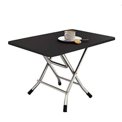SH-tables Mesa Plegable, Mesa De Comedor Portátil, Mesa Cuadrada, Escritorio, Mesa De Estudio, para Hogar, Dormitorio, Al Aire Libre, 7 Colores (Color : C)