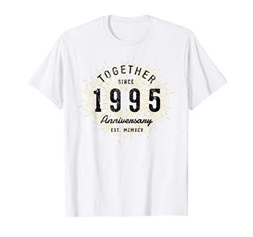 26 Aniversario 26 Años Juntos Desde 1995 Camiseta