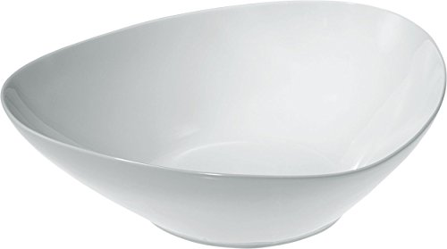 Alessi FM10/38 Colombina Collection Saladier en Porcelaine Blanc