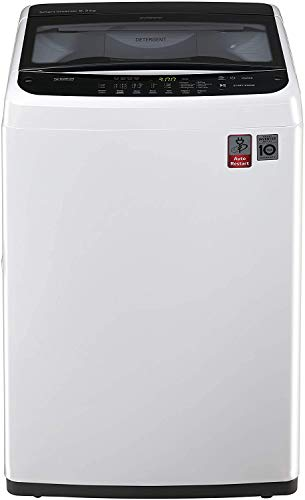 LG 6.2 kg Fully-Automatic Top Loading Washing Machine (T7288NDDL.ABWPEIL , ABWPEPL, Middle...
