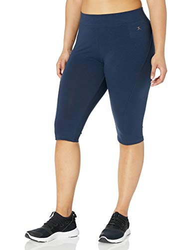 Danskin Women's Plus Size Capri Leg…