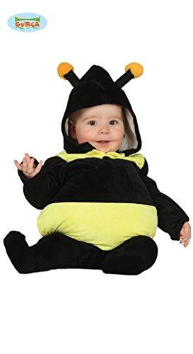 Dicke Biene Baby Kostüm Halloween Karneval Party Babykostüm süss Gr. 74-92, Größe:86/92