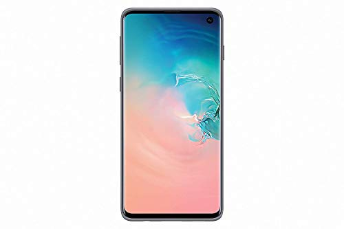 SAMSUNG Original Galaxy S10 Protective Slim Textured Standing Cover/Case - Silver