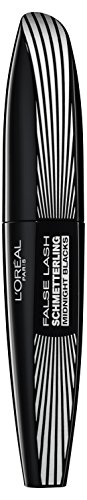 L'Oréal Paris False Lash Schmetterling Midnight Blacks Mascara, schwarz - Wimperntusche für maximal entfaltete Wimpern - 1er Pack (1 x 7 ml)