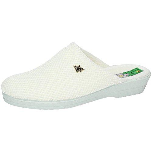 ALBEROLA 4220A Zapatillas Enfermera Mujer Calzado Trabajo Blanco 37