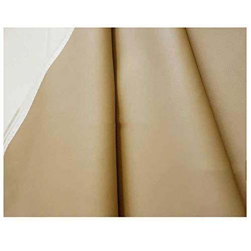 LILAMP Tela de Piel Sintética Tapicería Beige Material Texturizado Resistente, para la Restauración de la Funda del Asiento Bolsa Suave Junto a la Cama, 1 Pieza = 100 Cm(Size:1.4x8m)