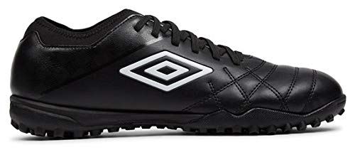Umbro unisex adult Medusae Iii Club Tf Soccer Shoe, Black, 10.5 Women Men US