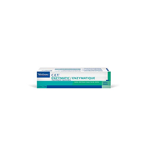 Virbac C.E.T Enzymatic Toothpaste, Vanilla-Mint Flavor