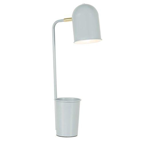 Luminaires & Eclairage-WXP Lampe de Table Pour Protéger L'oeil Fine Bureau Étudiants Étudier Dortoir Lecture Led Lampe Lampe De Chevet Chambre Creative Petite Lampe De Bureau Lampe De Bureau Mode Luminaires intérieur-WXP ( Couleur : Gris )