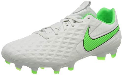 Nike Legend 8 PRO FG, Scarpe da Calcio Unisex-Adulto, Platinum Tint/Rage Green-Black, 43 EU