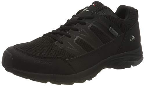 Viking Sporty GTX M, Zapatillas para Caminar Hombre, Negro/Carbón, 41 EU