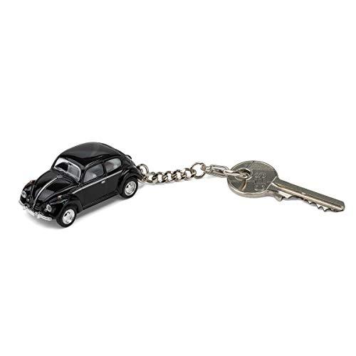 corpus delicti :: Schlüsselanhänger mit VW Käfer Modellauto für alle Auto- und Oldtimerfans (schwarz) (20.7)