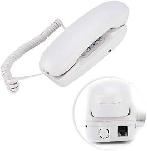 Telefoon desktop antieke wandtelefoon voor hotel voor thuis met functie met flitsfunctiewhite