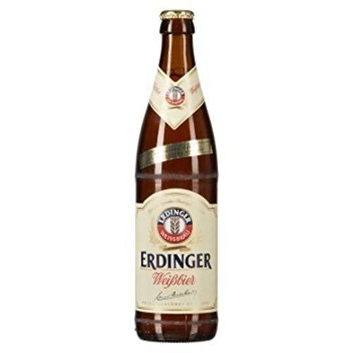 10 Flaschen Erdinger Weissbier a 0,5L inc. 0,80€ MEHRWEG Pfand 4,9% vol.