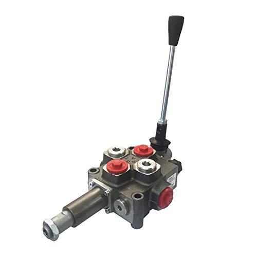 Galtech 1 Bank 1,27 cm BSP, 80 l/min, automatische Abschaltung von Holzspalter-Hebelventil