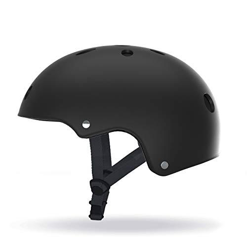 Casque pour Trottinette/Hoverbaord/Skate/Roller Taille L (58-61cm) Mixte Adulte, Noir