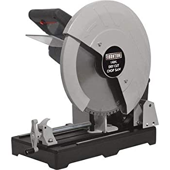 Ironton Dry Cut Metal Saw - 14in 15 Amps 1450 RPM
