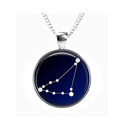 we are Forever family Capricorn Constellation Night Sky Glasbild Anhänger