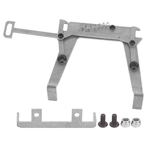 Piezas de actualización de acero inoxidable con cierre de cabina aptas para coche de control remoto Tamiya 1/14
