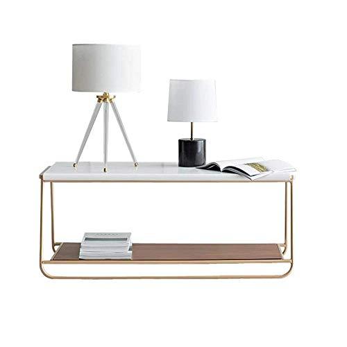 Speciale / Semplice Tavolino da caffè, tavolini da tavolino moderno comodino quadrato quadrata tavolino da tavolino da caffè per soggiorno camera da letto balcone famiglia e ufficio tavolo da caffè co