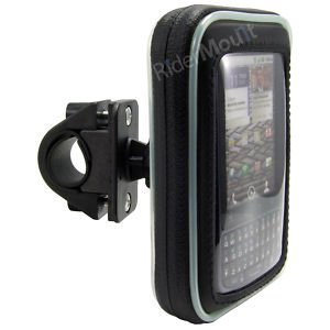RiderMount iPhone 5/4/3 G/3GS bicicletta custodia impermeabile con supporto di montaggio