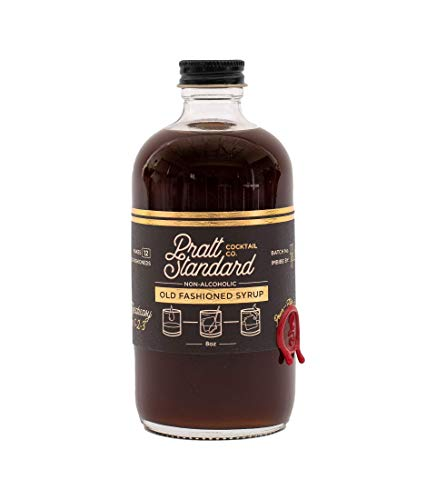 Pratt Standard | Classic Old Fashioned Cocktail Syrup | Non- Alcoholic Mixer | Compatible with SodaStream | 8 Fl Oz | Pack of 2