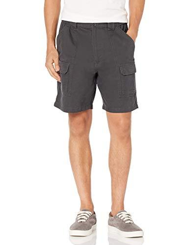 Savane Men's Hiking Shorts, Dark Grey, 32