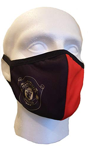 DSD MAN-CHESTER UNITED MAN UTD Unisex Face Masks Washable Reusable Windproof Face Cover, Football, soccer Manchester united print