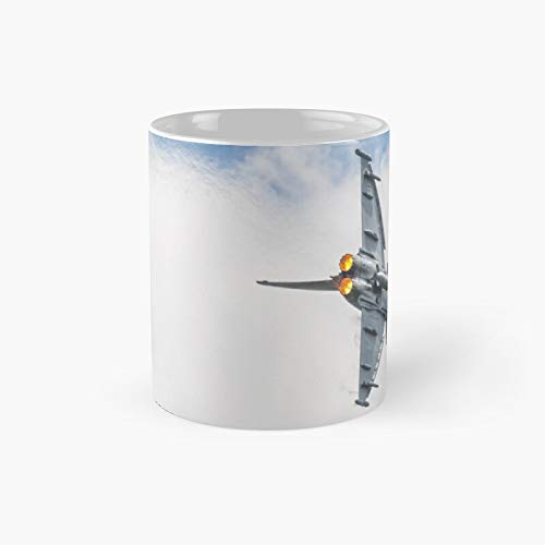 Eurofighter - Afterburner Classic Mug Womens Day, Fathers Mothers Day Gifts Funny Coffee For Dad, Mom, Grandkid, Daughter, Son, Grand Mother, Father | Mug 11 Oz