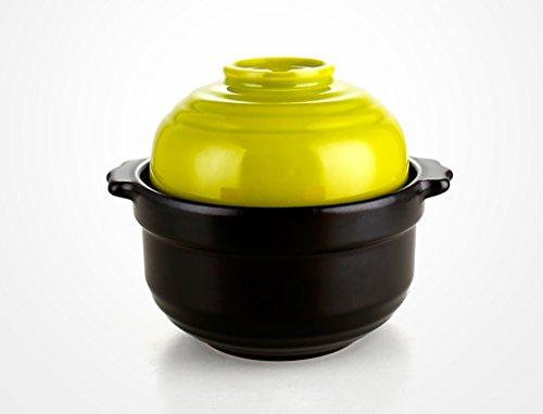 TFguo braadpan pot Thuis Met Vuur Hoge Temperatuur Keramische Braadpan Mini Stoofpot Rijst Bowl Stoofpot Pot Soep Braadpan 0,7L braadpan