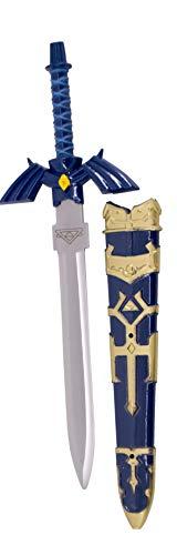 KOSxBO® Zelda Messer mit Scheide - Brieföffner Schwert - kleines Schwert - Schwertminiatur - Schreibtisch Gadget - Paper Knife - Messer festehende Klinge