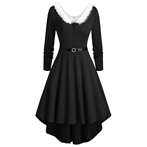 Darringls Gothic Kleidung Damen übergrösse Schwarz Winter Spitze Gothic Mantel Damen mit Hoher Kragen Frauen Steampunk Halloween Kostüm Mantel Lang Jacke Karneval Kleid