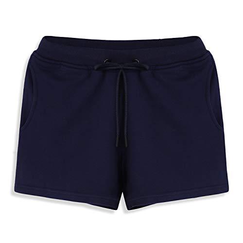 Shorts Sport Femme Décontractés Taille Elastique Cordon de Serrage Jogging Casual Pantalons