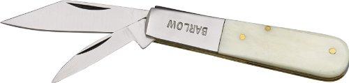 Pakistan - Taschenmesser - Barlow White Handle - Länge geschlossen: 8.26 cm