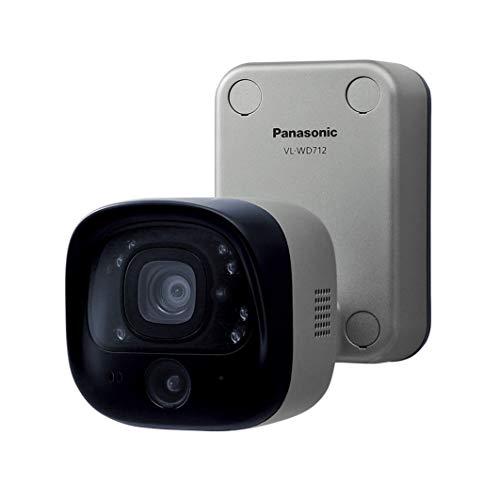 パナソニック(Panasonic) センサー付 屋外 ワイヤレスカメラ VL-WD712X