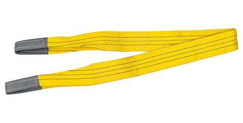 Petex 47103419 Hebeband WLL 3.000 kg, Länge 4 m, Breite 90 mm, Gelb