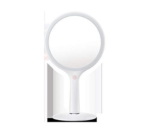 Schminkspiegel, tragbar, High-Definition-Objektiv Desktop-Kamm Spiegel, Farbe schnell Make-up schnell rosa