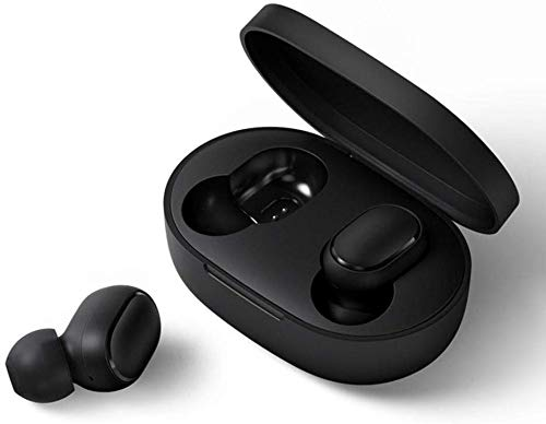 Mi AirDots Wireless Headphones Bluetooth V5.0 True Wireless Stereo Wireless Earphones with Wirelss Charging Case 12Hours Battery Life (Airdots+Silicone Cover)