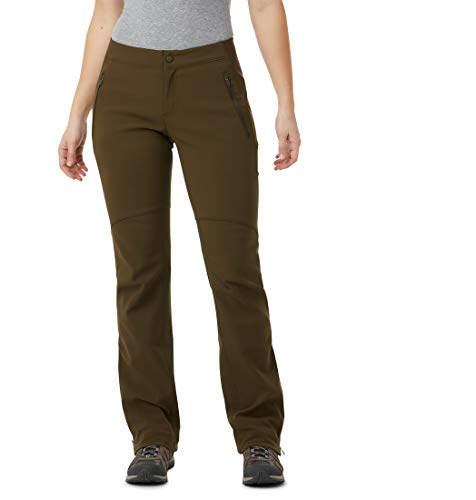 Columbia Damen Thermo-Hose Back Beauty Passo Alto, Olive Green, 8/R, 1412331