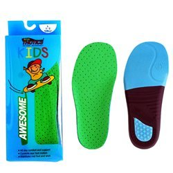 Redi Thotics Kids Orthotics Arch Insoles Support for Kids Shoe Inserts (X-Large (3-4))