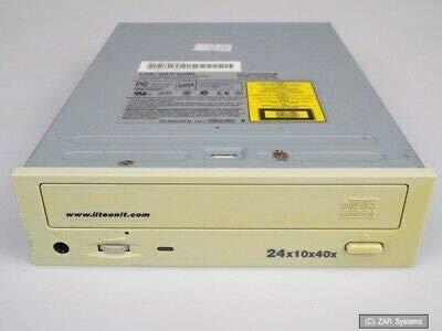 Original Lite-On LTR-24102B CD-RW Brenner Laufwerk IDE ATAPI Weiss/beige, Bulk