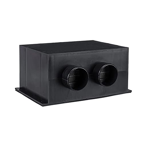 Vin Beauty Calentador portátil del ventilador del coche del calentador del invierno del coche, mini calentador 12V/24V del coche del secador para el parabrisas del vehículo