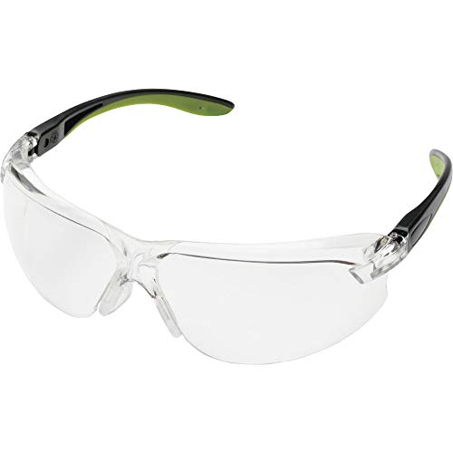 ミドリ安全 ビジョンベルデ 保護めがね MP-822 曇り止め 鼻パッド可動式タイプ グリーン