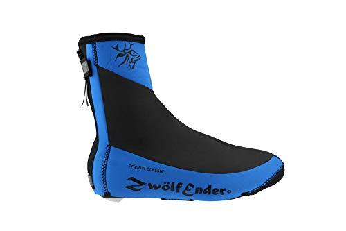 Zwölfender Classic Blue blau Neopren-Überschuhe, Größe:XXL