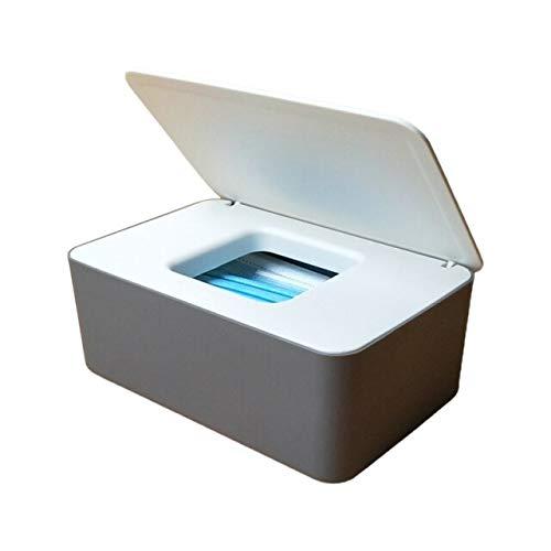 Dispensador de toallitas antideslizantes para bebé, caja de almacenamiento de pañuelos con tapa, 1