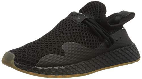 adidas Deerupt S, Zapatillas Hombre, Core Black/Core Black/Gum 3, 42 EU