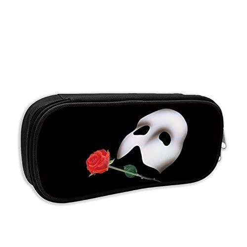 Das Phantom Der Oper Federmäppchen mit Reißverschluss und großer Kapazität für Jungen, Mädchen, Teenager, Studenten
