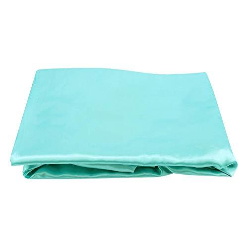 Jadpes kunstzijdesatijnen hoeslaken, stofdichte anti-mijt matrasbeschermer voor huis slaapkamer bedlakens