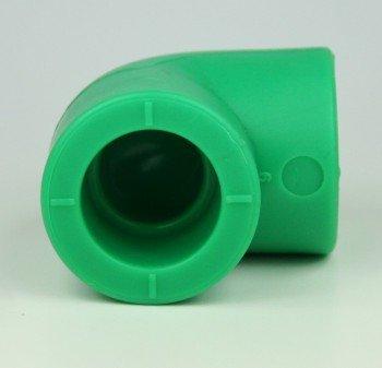 10 x PPR Aqua Plus 90° Winkel mit 20mm Durchmesser, Fusiotherm