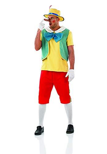 Fun Shack Rojo Marioneta De Madera Disfraz para Hombres - XL